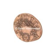 Médaille bronze - Paris, par Jean-Philippe Roch - revers