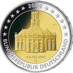 2 euro commémorative Allemagne 2009 G - Saarland