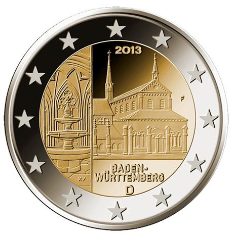 2 euro commémorative Allemagne 2013 F - Baden-Württemberg