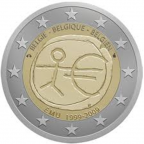 2 euro commémorative Belgique 2009 - EMU