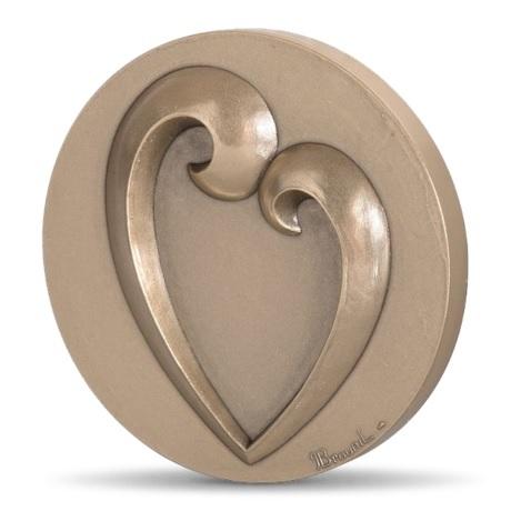 (FMED.Méd.MdP.CuSn1.100111164900P0) Médaille bronze - Toi et moi Avers