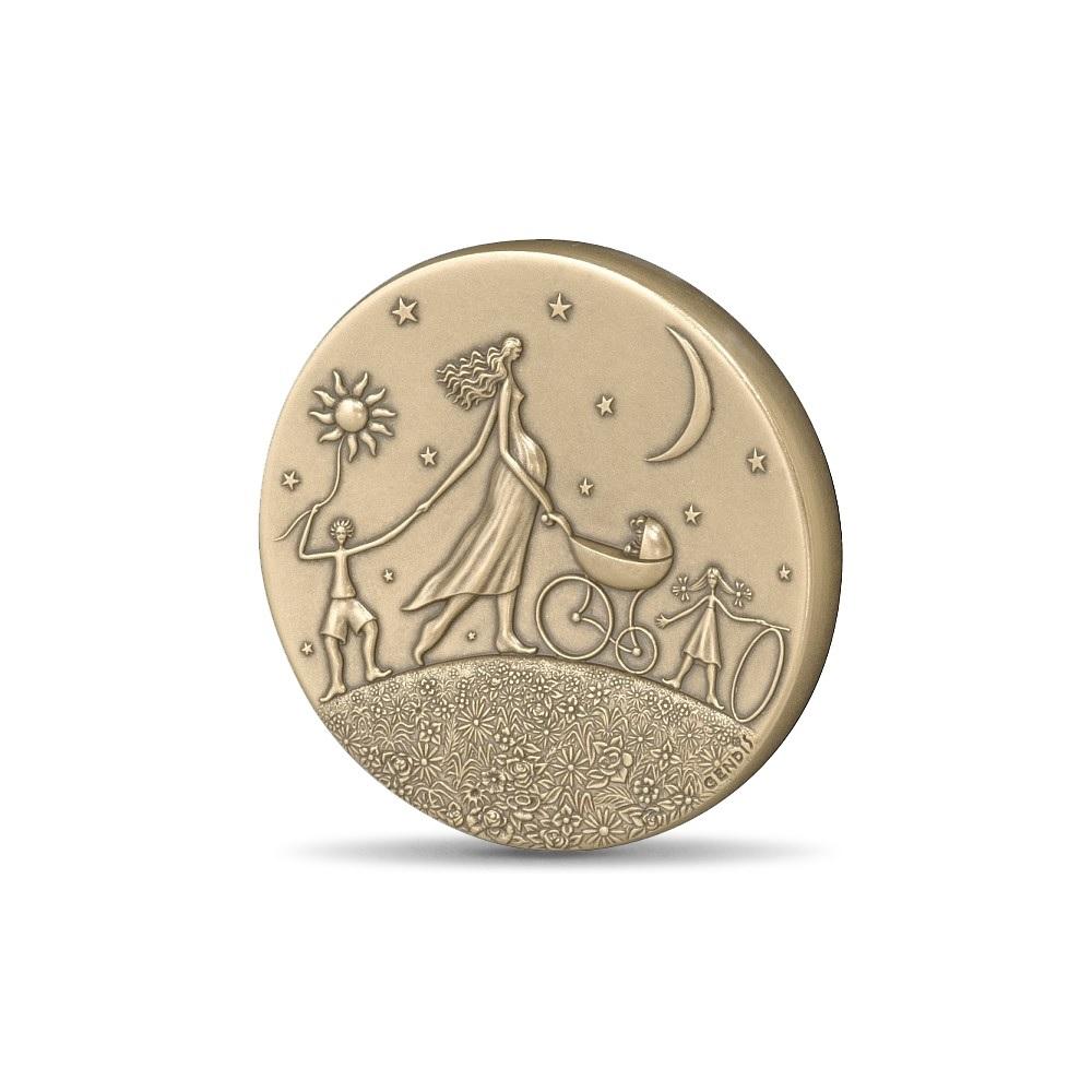 (FMED.Méd.MdP.CuSn.100112000100P0) Bronze medal - Ronde de la vie, by Gendis Obverse (zoom)