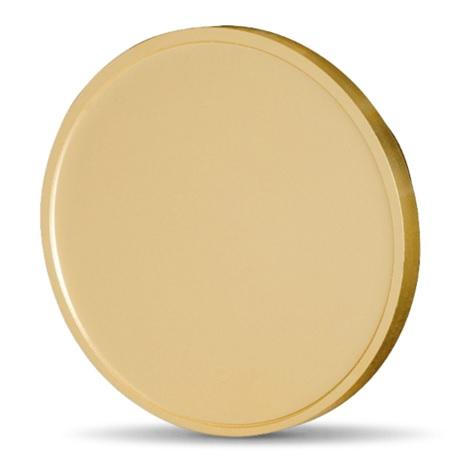 (FMED.Méd.MdP.CuSn.100112210300B0) Médaille presse-papiers bronze - Coeur à coeur Revers