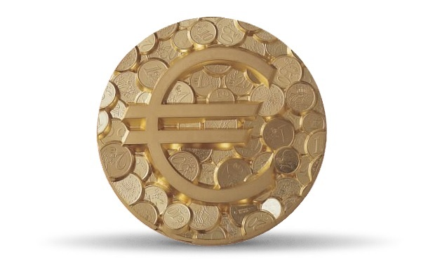 (FMED.Méd.MdP.CuZn.100112138900P0) Florentine bronze clipboardmedal - Pêle-mêle euro Obverse (zoom)