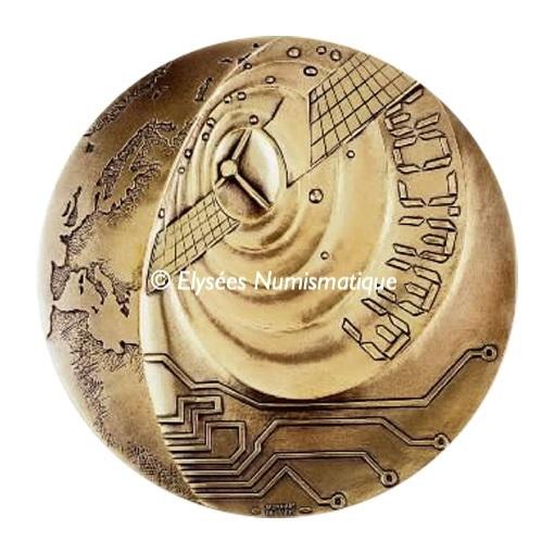 (FMED.Méd.MdP.CuZn.100112200400P0) Florentine bronze medal - Age of communication Obverse (zoom)