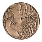 Médaille bronze - Sécurité sociale Avers