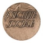 Médaille bronze - Sécurité sociale Revers