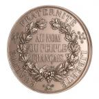 Médaille bronze - Sceau de la 2ème République (Grand module) Revers