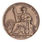 Médaille bronze - Sceau de la 2ème République (Petit module) Avers