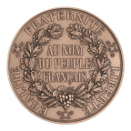 Médaille bronze - Sceau de la 2ème République (Petit module) Revers
