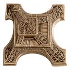 Médaille bronze - Tour Eiffel, par Thérèse Dufresne Avers