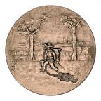 Médaille bronze - Van Gogh Revers