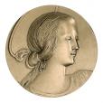Médaille bronze - Vierge de Milan Avers