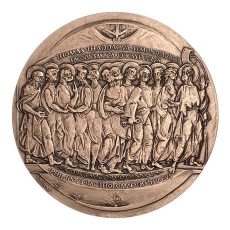 Médaille bronze - Vous serez mes témoins Avers