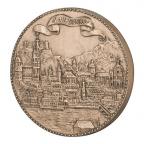 Médaille bronze - Wolfgang Amadeus Mozart Revers