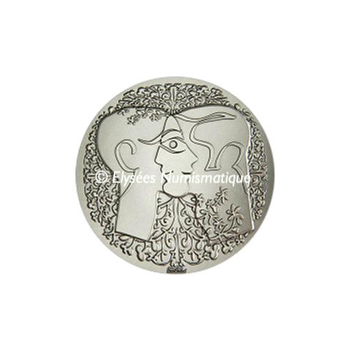 Médaille bronze argenté - Médaille du PACS (Grand module) - avers