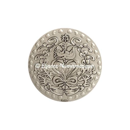Médaille bronze argenté - Médaille du mariage (Grand module) - avers