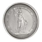 Médaille bronze argenté - Sceau de la 1ère République Avers