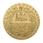 Médaille bronze florentin - Médaille du mariage (Grand module) Avers
