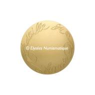 Médaille bronze florentin - Médaille du mariage (Module moyen) - revers