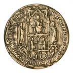 Médaille bronze florentin - Sceau de l'Université de Paris Avers