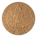 Médaille bronze florentin - Ville de Besançon Avers