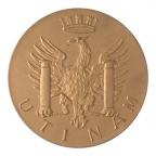 Médaille bronze florentin - Ville de Besançon Revers