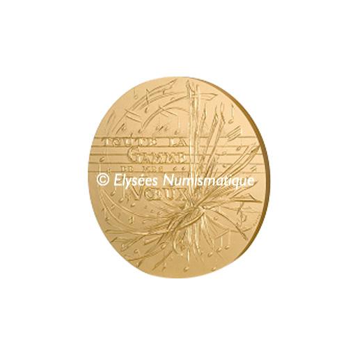 Médaille bronze florentin - Voeux 26 en majeur - avers