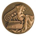 Médaille presse-papiers bronze - Les arts Avers