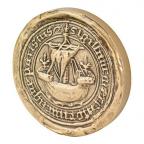 Médaille presse-papiers bronze - Sceau de Paris (Grand module) Avers