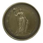Médaille presse-papiers bronze - Sceau de la 1ère République Avers