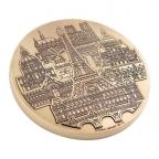 Médaille presse-papiers bronze florentin - Monuments parisiens Avers