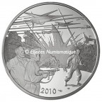 10 euro France 2010 argent BE - Blake et Mortimer Avers
