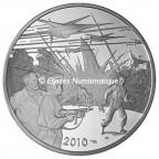 10 euro France 2010 argent BE - Blake et Mortimer Avers