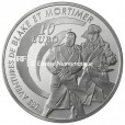 10 euro France 2010 argent BE - Blake et Mortimer Revers