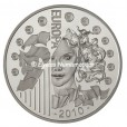 10 euro France 2010 argent BE - Europa Avers