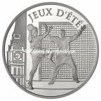 10 euro France 2010 argent BE - Handball Avers