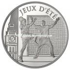 10 euro France 2010 argent BE - Handball Avers