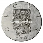 10 euro France 2011 argent BE - Clovis Avers
