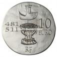 10 euro France 2011 argent BE - Clovis Revers