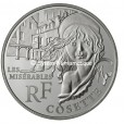 10 euro France 2011 argent BE - Cosette Avers