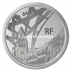 10 euro France 2011 argent BE - Gare de Metz Avers