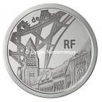 10 euro France 2011 argent BE - Gare de Metz Avers
