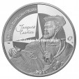 10 euro France 2011 argent BE - Jacques Cartier Avers