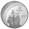 10 euro France 2011 argent BE - Jacques Cartier Revers