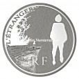 10 euro France 2011 argent BE - L'Etranger Avers