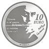 10 euro France 2011 argent BE - L'Etranger Revers