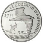 10 euro France 2011 argent BE - Le Goéland d'Audouin Avers