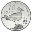 10 euro France 2011 argent BE - Le Goéland d'Audouin Revers