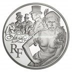 10 euro France 2011 argent BE - Nana Avers